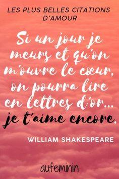 Citation de Shakespeare