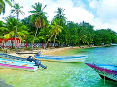 STUNNING beach shores in Isla Grande, Panama -- This looks like Paradise !