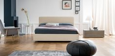 Teo #letto #bed #letto in legno #letto imbottito #wooden bed #padded bed