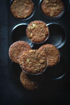 Banana Raisin Muffins (Vegan + Whole Wheat)