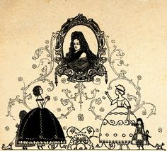 Illustration by Harry Clarke From the book 'Fairy Tales of Charles Perrault – Illustrated by Harry Clarke' available on: http://www.amazon.com/gp/product/1445508613/ref=as_li_tl?ie=UTF8&camp=1789&creative=9325&creativeASIN=1445508613&linkCode=as2&tag=reaboo09-20&linkId=5SXH5RB4FEJBN2HE