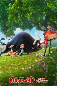 NOW PLAYING. Experience the love-A-BULL Ferdinand with the entire family.