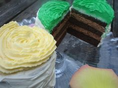 Layer Cake. Quand la Bataille Food fête son 1er anniversaire, tu prends de la hauteur dans ton gâteau. Layer Cake chocolat façon mojito