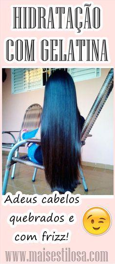 HIDRATAÇÃO COM GELATINA: Ressuscita Cabelos Quebrados! Elimina o Frizz e Ajuda no Crescimento do Cabelo! #hidratação #hidrataçãocaseira #hidrataçãodegelatina #hidrataçãocomgelatina #gelatinanocabelo   #hair  #receitacaseira #dicas #dicasdecabelo   #natural #natureba #dicasdebeleza #projetorapunzel  #longhair #diy #facavocemesma #beauty  #hair #homemade