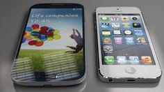 iPhone 5 vs. Samsung Galaxy S4 ¿Cuál prefieres? - http://www.cleardata.com.ar/moviles-2/iphone-5-vs-samsung-galaxy-s4-cual-prefieres.html