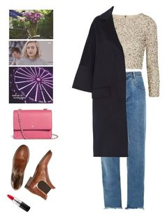 A fashion look from December 2016 featuring mesh top, wool coat and denim jeans. Browse and shop related looks. Noora Skam Style, Fall Winter Outfits, Winter Fashion, Boho Grunge, Nice Dresses, Personal Style, Fashion Dresses, Cute Outfits, Style Inspiration