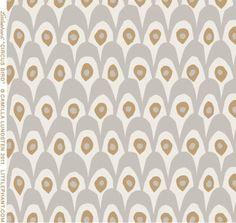 The Swedish Fabric Company - Circus White/Grey