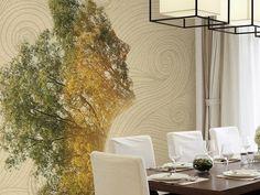 Washable vinyl wallpaper SMILING WOOD Spirit of nature Collection by GLAMORA   design Gianluca Scolaro