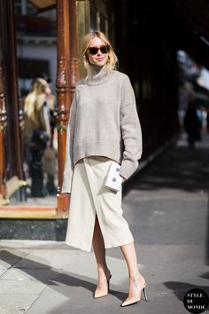 Slouchy, but sleek. Penniless in Paris. #STYLEDUMONDE