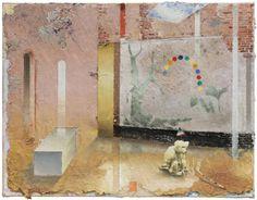 o.T., Öl auf Leinwand, 51 x 66 cm, 2016