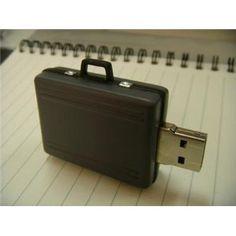 2GB Briefcase USB Drive