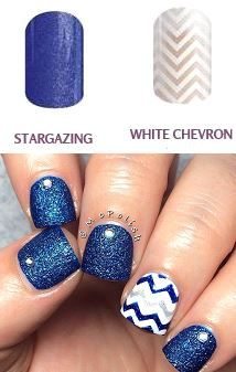 I love this combination!! Get this same look with jamberry nail wraps with out going to the salon and breaking http://troiasweetpeanails.jamberrynails.netthe bank!!