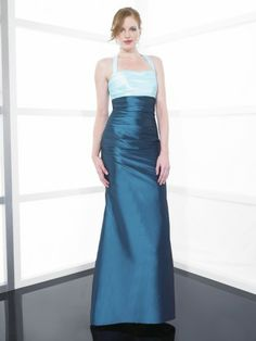 8fa11b4bdefb Taffeta Halter Soft Sweetheart Floor-Length Bridesmaid Dress Dress P,  Mother Of The Bride
