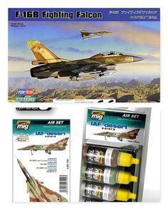 F-16B 1/72 Hobby Boss (Combo-Pack)