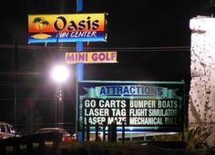 Visit Oasis Fun Center - Games and entertainment for the whole family! http://www.oasisfuncenter.com/