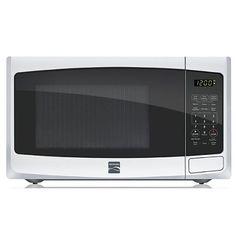 Kenmore 0.9 cu. ft. Countertop Microwave White 73092 Kenmore http://www.amazon.com/dp/B00CP6ZRLO/ref=cm_sw_r_pi_dp_SUt0vb1KSNT2E