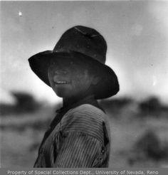 A Paiute boy, 1912
