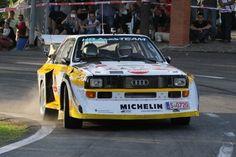 Gruppe B-Autos aus den Achtziger Jahren sieht man nicht mehr sehr oft bei einer Rallye und noch seltener mit vollem Einsatz. Wie gut dass es die Rallye-Legend gibt.