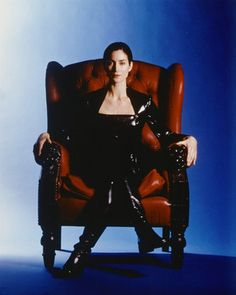 Carrie-Ann Moss as Trinity in The Matrix series Keanu Charles Reeves, Keanu Reeves, Trinity Neo, Matrix Reloaded, Matrix 1, The Matrix Movie, Carrie Anne Moss, Hero's Journey, Tough Girl