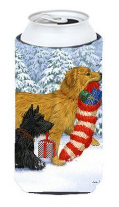 Keep Up There - Scottie Scottish Terrier Tall Boy Beverage Insulator Hugger ASA2010TBC #artwork #artworks