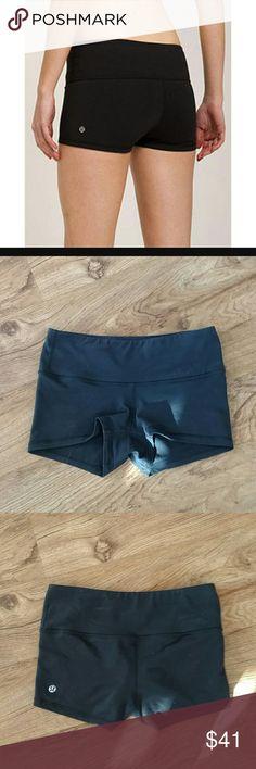 Lululemon Black Boogie Shorts Flawless, size 4. Gently worn. lululemon athletica Shorts