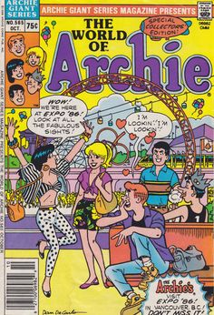 Betty & Veronica with Archie and the gang @ Expo 86