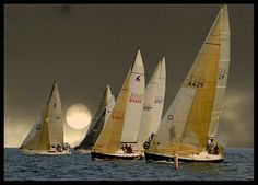 After Sunset, Eh… - It was a 'dark and stormy' race night in Toronto on Lake Ontario.