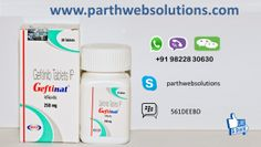 Geftinat (Gefitinib Tablets) Gefitinib is used to treat  non-small cell lung cancer in people who have already been treated with  certain other chemothe