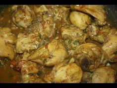 """""""Surinaamse Kip Kerrie met Aardappel Recept"""" """"Surinaams Eten""""  https://www.youtube.com/user/MaharajaXpress"""
