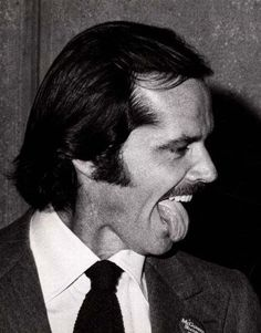 Jack Nicholson, by Ron Gallela Note his McGovern for President pin.