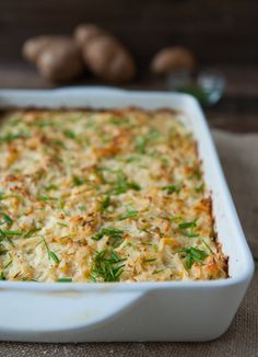 Cheesy Potato Kugel by @Angela Bocrie McGowan