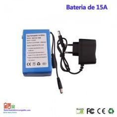 Bateria recargable litio 12V / 15A