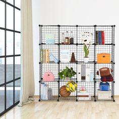 buy plastic storage shelving shelf organizer rack ventilated unit adjustable gray at online store