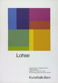 Kunsthalle Bern / Poster / 1970