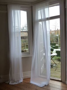 Muslin Voile Curtains 100 Cotton 128cm Wide X Any Length From GBP899