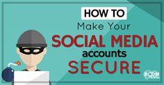 How to Make Your Social Media Accounts SECURE - @kimgarst
