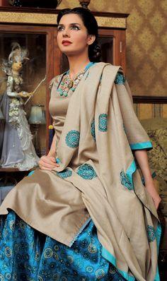Perfect color combo Punjabi Suit