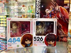 Nos acaban de llegar a #Zaitama dos nuevos Nendoroid en stock!! También en la foto hay un pequeño infiltrado que salió en Japón hace sólo unas semanas y está disponible! para un auto regalo tal vez?