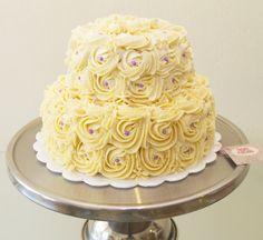Buttercream cake. Que Ricos queques artesanales.