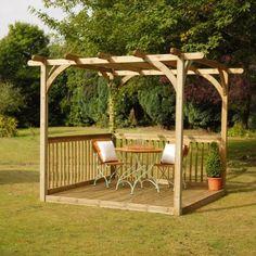 Building A Pergola On A Deck |