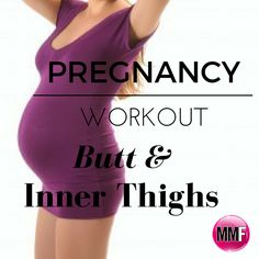 Pregnancy workout for inner thighs and butt.This short workout will help you tone your thighs & butt even while pregnant.All exercises can be done at home.