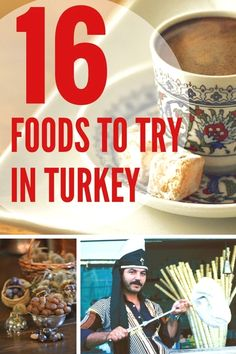 Turkey is not only filled with wonders and amazing UNESCO heritage sites, it's a place to feast on some amazing food. Discover 16 foods that you need to try in Turkey including Turkish ice cream, and amazing pide. Discover more @turkeyhome. Turkey Places to Visit Zugriff auf unsere Website Viel mehr Informationen https://storelatina.com/turkey/travelling #placestovisitaltinkumturkey #तुर्की #তুরস্ক #Türgi