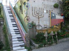 Valparaiso Murals, Chile, Graffiti, Street Art, Wall Paintings, Mural Painting, Wall Murals, Graffiti Artwork, Mural Art