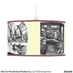 Alice In Wonderland Pendant Lamp