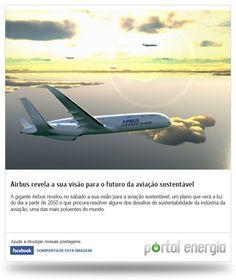 Airbus revela a sua vião de futuro para a aviação sustentável