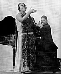"""Sara Martin (June 18, 1884 – May 24, 1955) was a blues singer, in her time one of the most popular of the classic blues singers. She was billed as """"The Famous Moanin' Mama"""" and """"The Colored Sophie Tucker"""". Martin made many recordings, including a few under the names Margaret Johnson and Sally Roberts."""