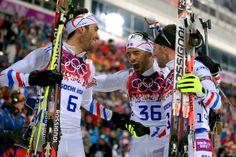 Martin Fourcade and Simon Fourcade - Winter Olympics: Men's Biathlon