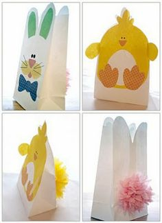 Cute Bags .... Chicks ... Bunnies ....