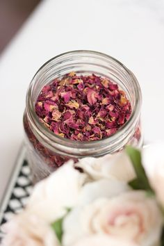 Red Organic Dried Rose Bud Petals by HellNotesforBeauty on Etsy: http://etsy.me/29mbIDi