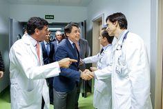 Ignacio González visita las nuevas instalaciones de la Unidad Coronaria del Hospital Ramón y Cajal